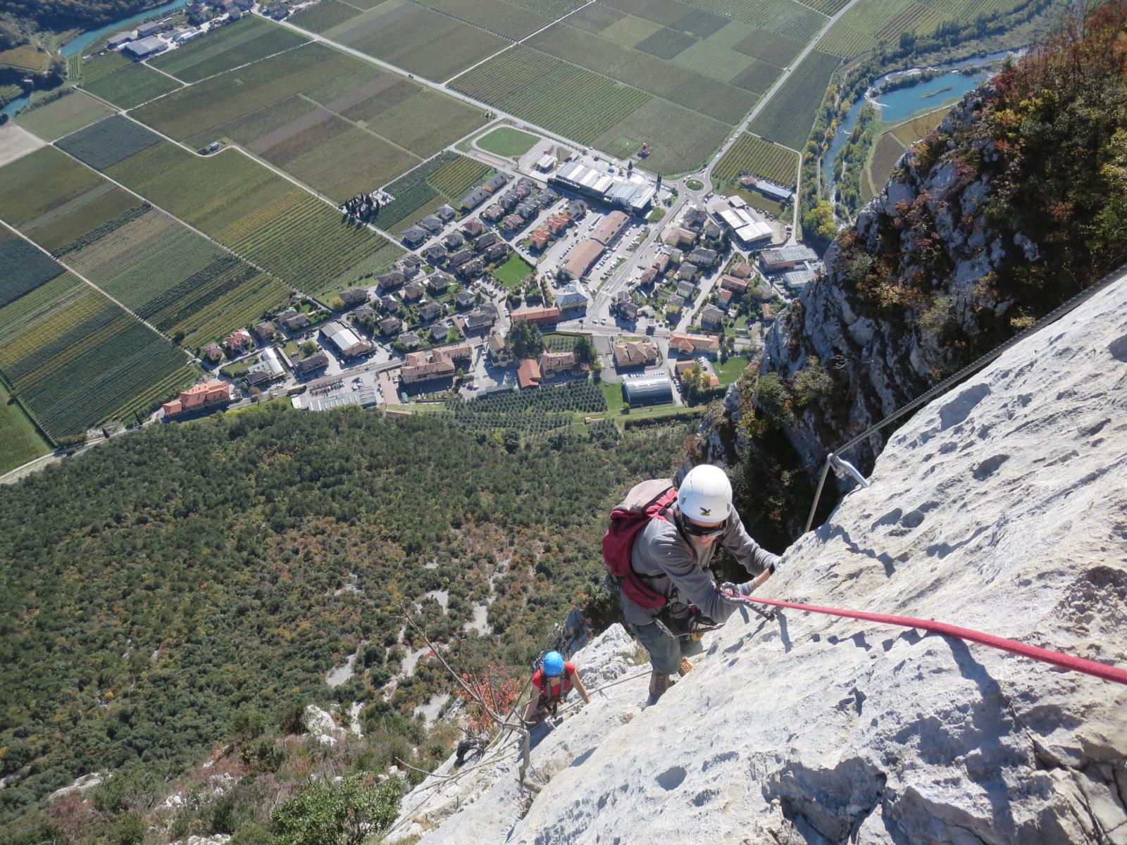 Klettersteig Arco : Klettersteige in arco