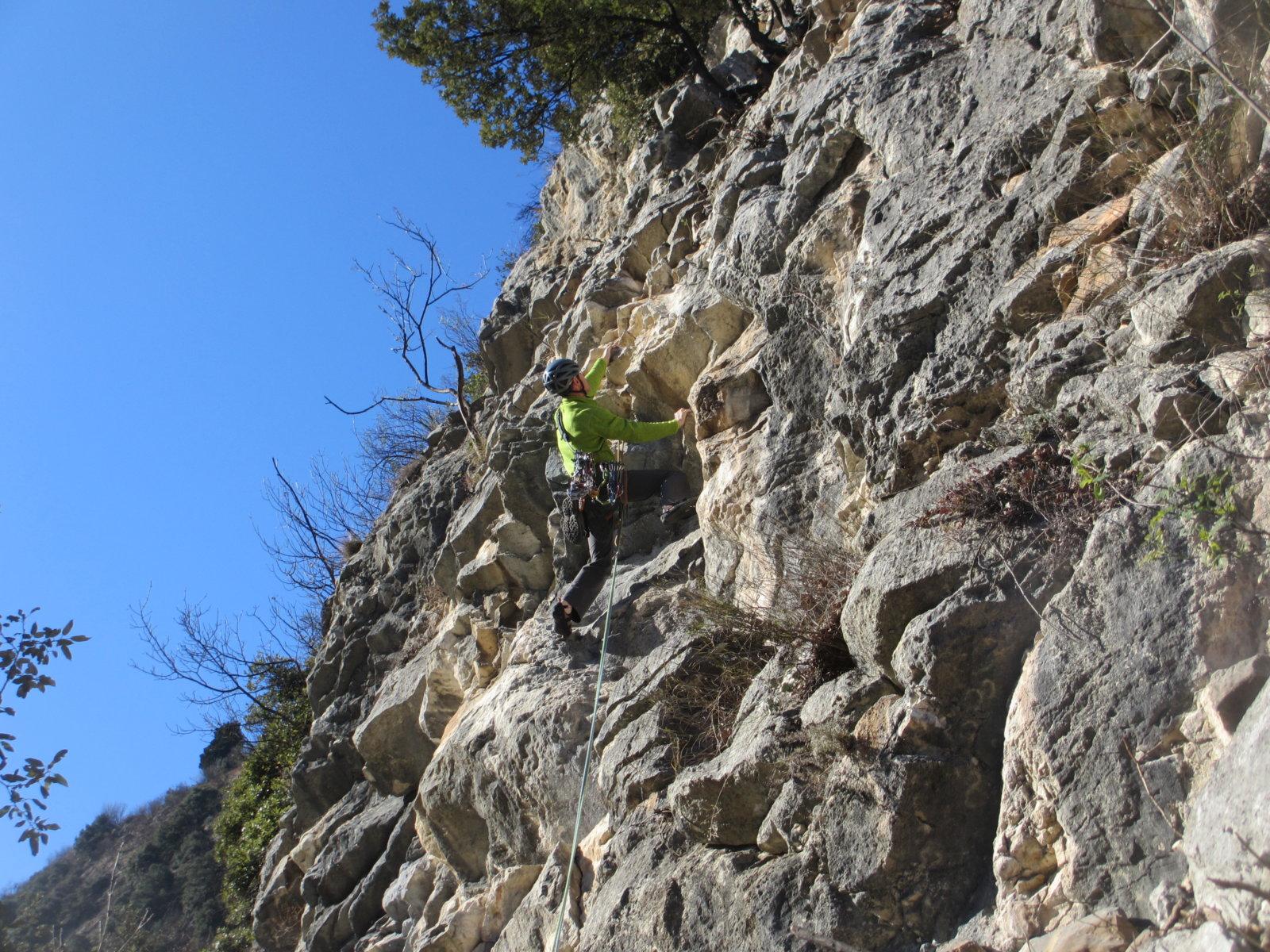 Aufbaukurs Klettern am Gardasee