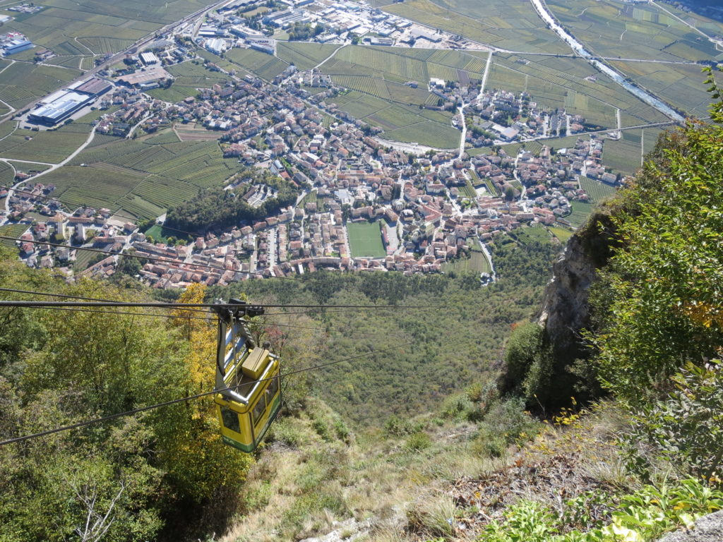Ferrata BURRONE di MEZZOCORONA - valle d'Adige