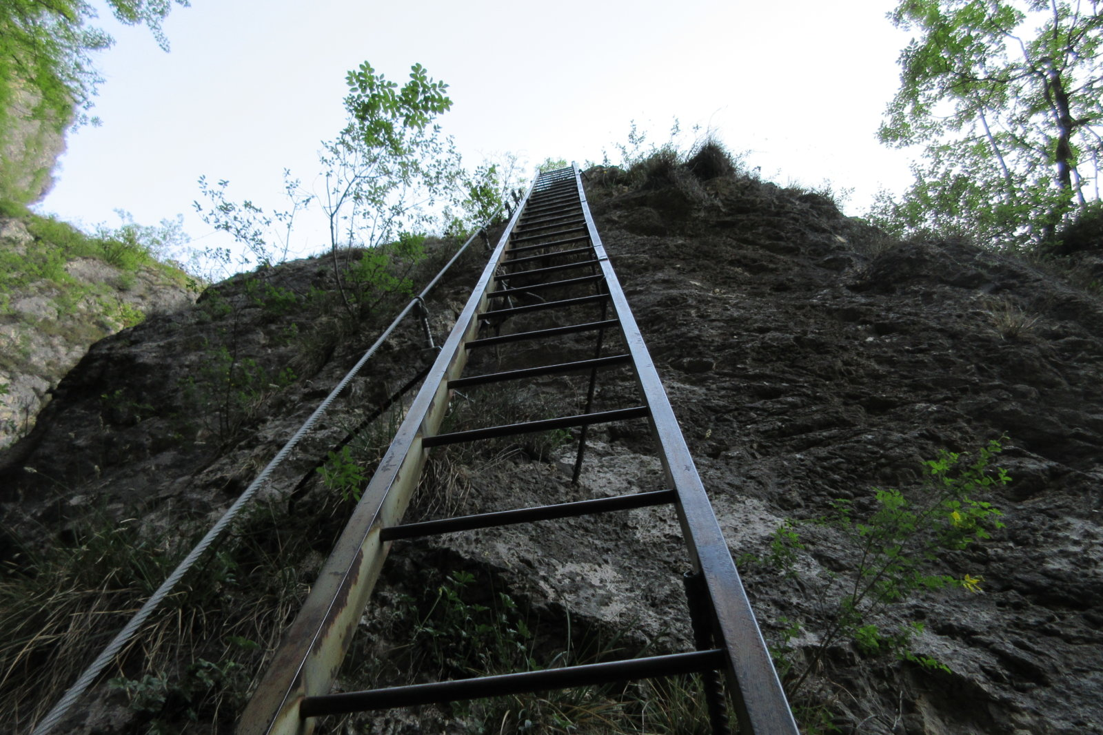 Klettersteig BURRONE di MEZZOCORONA - im Trentino
