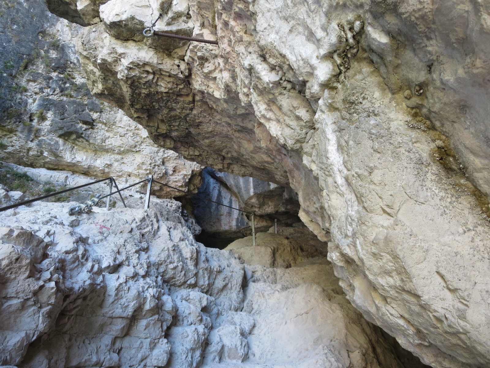 via ferrata burrone canyon mezzocorona