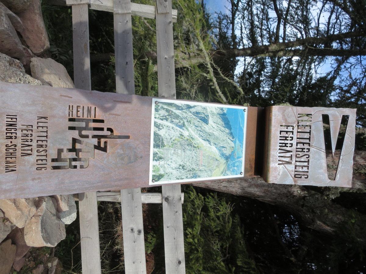 Klettersteig Ifinger : Fotogalerie tourfotos fotos zur klettersteig tour meran