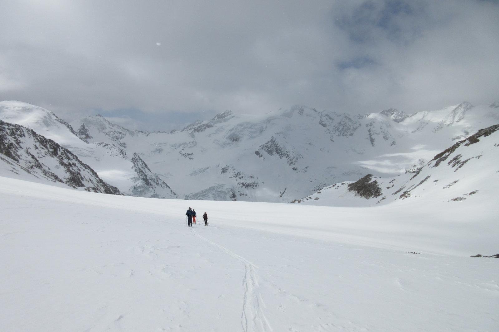 geführte Skitouren Ortler- Cevedalegruppe